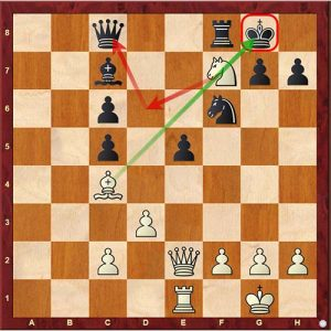 Chess Tactics discovered attack