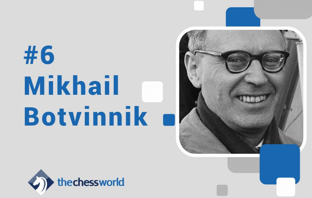 best chess players mikhail botvinnik