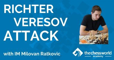 Richter-Veresov Attack with IM Milovan Ratkovic [TCW Academy]