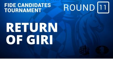 Fide Candidates Tournament – Return of Giri: Round 11
