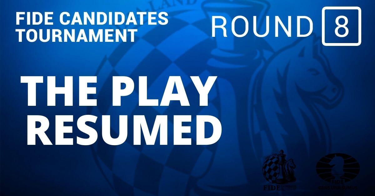 Fide Candidates Tournament Resumed: Round 8